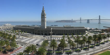 San Francisco - Ferry Building. Click picture to enlarge image.