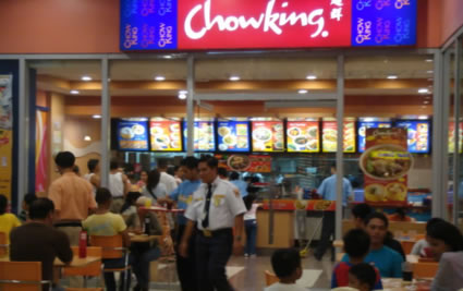 Chowking at South Seas Mall, Cotabato City