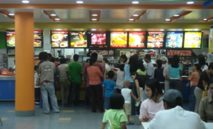 Jollibee at Cotabato City Plaza