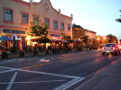 Downtown Castro Street, Mountain View, Ca