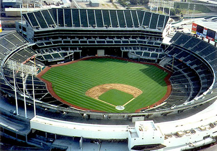 The Oakland - McAfee Coliseum