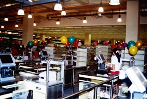 South Seas Mall - Supermarket POS stations